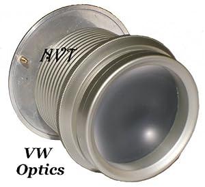 """Wide Angle Peephole Door Viewer Door Scope 2- 3/8"""" Silver ABS"""