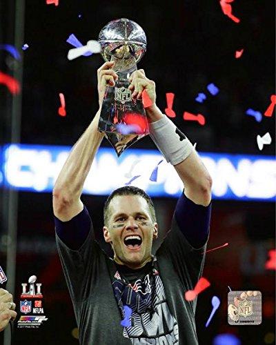Tom Brady Vince Lombardi Trophy
