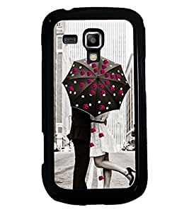 PRINTSWAG LOVE COUPLE Designer Back Cover Case for SAMSUNG GALAXY S DUOS S7562