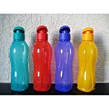 Tupperware 750 Ml Flip Top Water Bottles 4*750 Ml