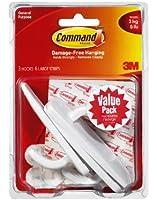 Command Large Plastic Hooks Value Pack, 3-Hook
