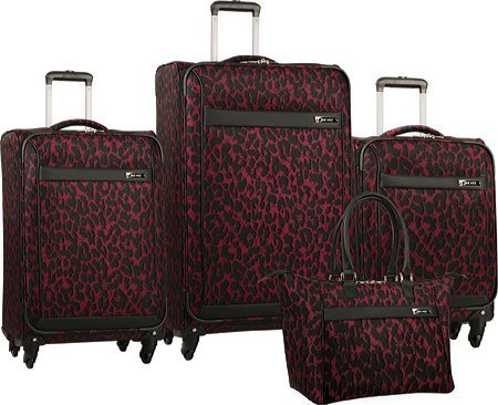 ninewest-briar-four-piece-luggage-set-wine-black