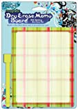 MagnaCard Dry Erase Board with Dry Erase Pen, Prep Plaid Design, 9 x 6 x 9 inches  (20032)