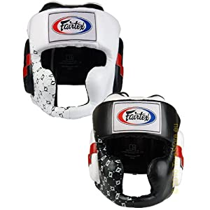 Fairtex Black Sparring Headguard