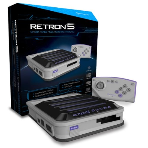 Hyperkin RetroN 5 Retro Video Gaming System - Gray