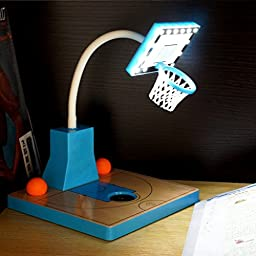 Creative LED basketball touch dimming desk Table Book lamp Light