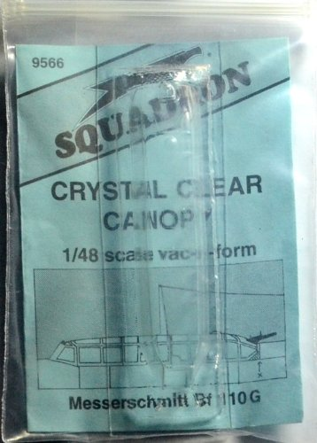 Squadron Products Me-110 Vacuform Canopy