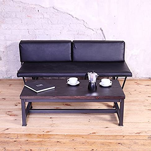Elegante acciaio stile industriale tavolino