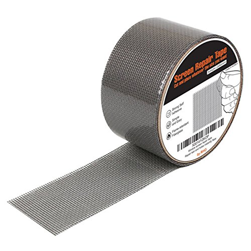 RHO Window and Door Screen Repair Tape. 3-layer Strong Adhesive & Waterproof Ideal for Covering up Holes and Tears Instantly -Prevents Intruding Insects screen repair kit (Window Kit compare prices)