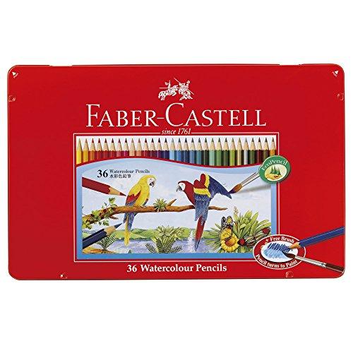 シヤチハタ 水彩色鉛筆 ファーバーカステル TFC-WCP/36C  36色セット