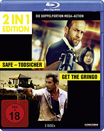 Safe - Todsicher/Get the Gringo (2 in 1 Edition) [Blu-ray]