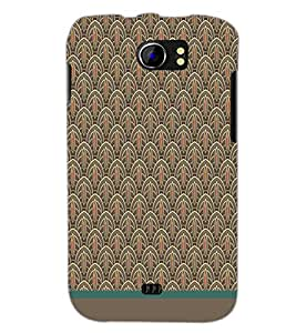 PrintDhaba Pattern D-1519 Back Case Cover for MICROMAX A110 CANVAS 2 (Multi-Coloured)