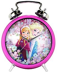 Disney Frozen JUMBO Twin Bell Alarm Clock