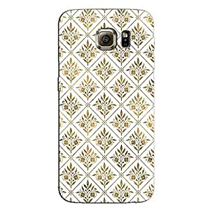 GOLDEN LEAVES BACK COVER FOR SAMSUNG GALAXY S7 EDGE