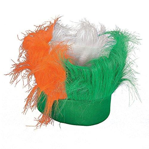 Irish Crazy Hair Headband - 1 Piece- St. Patrick's Day