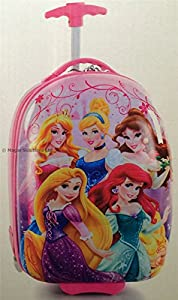 Heys Disney PRINCESSES Luggage Case/Suitcase Childrens Girls Boys Cabin Rolling Trolley Bag