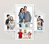 Designer 4 in 1 Photo Frame White
