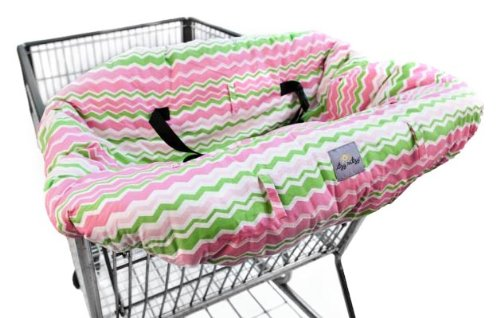 Itzy Ritzy GC8054 Shopping Cart and High Chair Cover (Little Miss Zig Zag)
