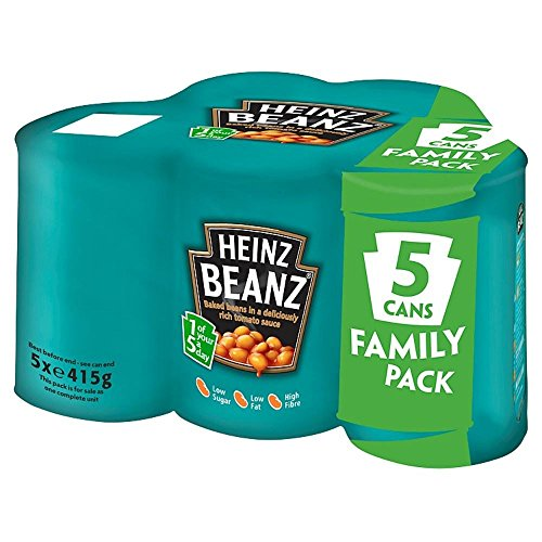Heinz Baked Beanz In Tomato Sauce (5X415G) front-1040415