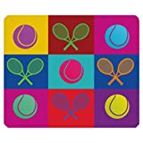 Tennis Mouse Pad by CUE GREEN TEA ENERGY
