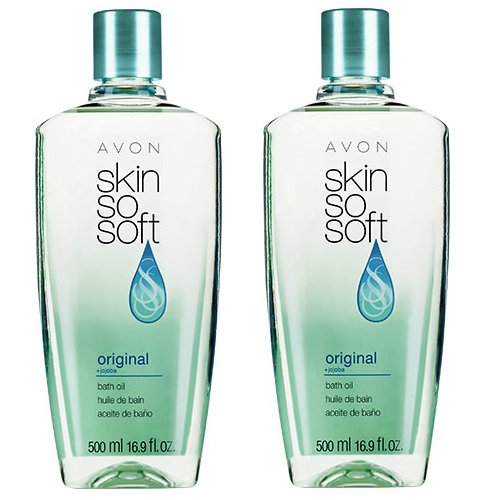 Lot of 2 Avon Skin So Soft SSS Original Bath Oil ea New & Sealed!