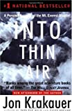 Image of By Jon Krakauer: Into Thin Air: A Personal Account of the Mt. Everest Disaster ( Paperback )