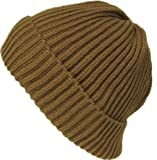Alkii Mens Cuffed thick warm beanie snowboarding hats