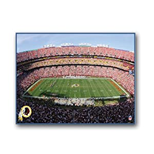 NFL Washington Redskins Stadium 22x28 Canvas Art by Pangea Brands