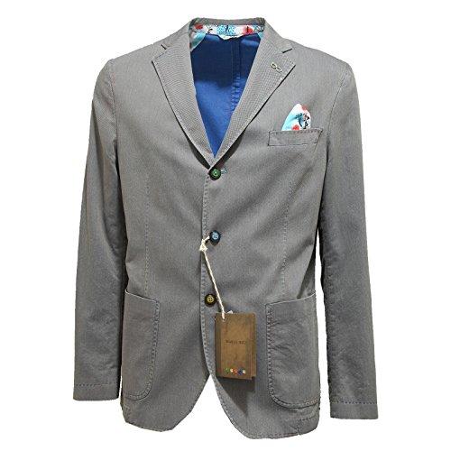 9851N giacca MANUEL RITZ grigio giacche uomo jackets men [50]