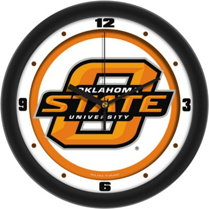 Oklahoma State Cowboys OSU NCAA 12In Collegiate Wall Clock