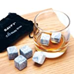 SAVFY� 9 PCS Whisky Chilling Rocks Ic...