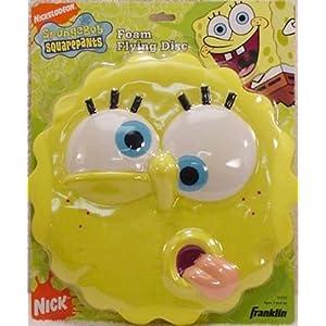 Nick Jr SpongeBob Squarepants Foam Flying Disc
