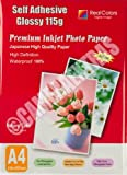 20 Sheets A4 Self Adhesive Glossy Photo Inkjet Paper Sticker Sticky