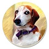 CounterArt Beautiful Beagle Absorbent Coasters, Set Of 4