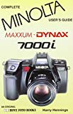 img - for Minolta Dynax/Maxxum 7000I (Hove User's Guide) book / textbook / text book
