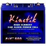 Kinetik HC600 BLU Series 600-Watt 12-Volt High Current AGM Car Audio Power Cell Battery