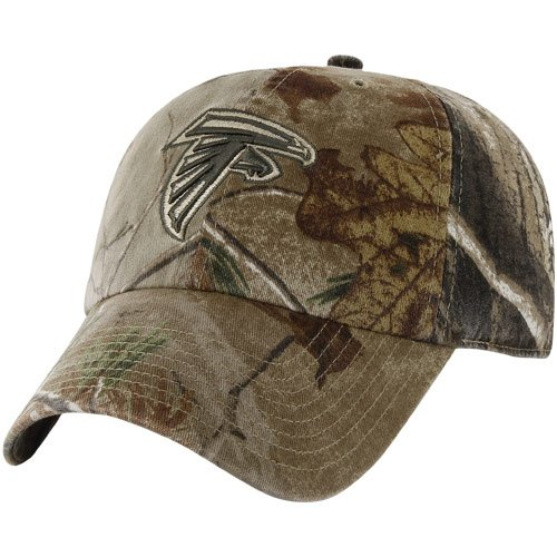 47 Brand Atlanta Falcons Franchise Fitted Hat Realtree Camo at Amazon.com