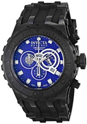 Invicta Men's 80392 Subaqua Analog Display Swiss Quartz Black Watch