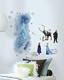 RoomMates QVC0001TB Frozen Character/Ice Palace Wall Decal Set