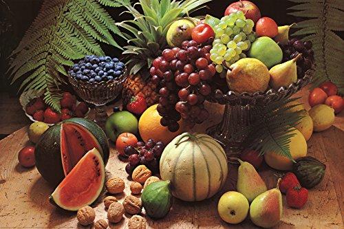 Frutta Fresca (Fresh Fruit Still Life) Art Poster Print 36 x 24in (Fruit Art compare prices)