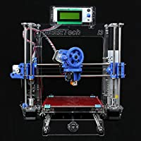 Geeetech Full Kit Transparent Color Acrylic Frame Reprap Pursa I3 3D Desktop Printer Sanguinololu control board