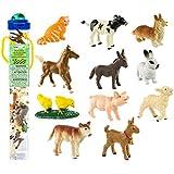 Plastoy - 6812-04 - Figurine - Animal - Tubo Bebes De La Ferme