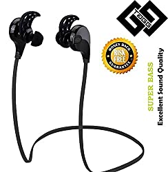 TAGG T - 07 Wireless Sports Bluetooth Headset with Mic || Sweatproof Earbuds, Best for Running,Gym || Noise Cancellation || Stereo Sound Quality || Compatible with Iphones, IPads, Samsung and other Android Devices
