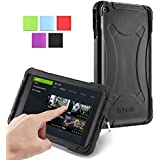NVIDIA SHIELD Tablet Case - Poetic NVIDIA SHIELD Tablet Case [Turtle Skin Series] - [Corner/Bumper Protection] [Grip] [Sound-Amplification] Protective Silicone Case for NVIDIA SHIELD Tablet Black (3 Year Manufacturer Warranty From Poetic)