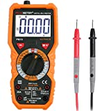 Digital Multimeter, Janisa PM18 AC/DC Voltage Current Tester Resistance Non-contact Voltage Test Multi Tester Voltmeter Ammeter Ohmmeter with Backlight LCD for DIY