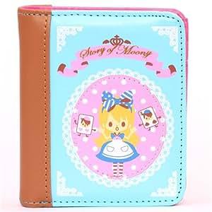 kawaii blue fairy tale Alice in Wonderland wallet