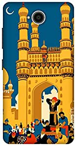 The Racoon Grip printed designer hard back mobile phone case cover for Microsoft Lumia 650. (hyderabad)