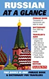 img - for Russian at a Glance: Foreign Language Phrasebook & Dictionary (At a Glance Series) 3rd edition by Beyer Jr. Ph.D., Thomas R. (2008) Paperback book / textbook / text book