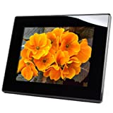Micca M1203Z 12-Inch 800x600 High Resolution Digital Photo Frame ith 8GB USB Memory - Auto On Off Timer - MP3 and Video Player (Black)
