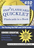 img - for PMP Flashcard Quicklet: Flashcards in a Book for Passing the PMP and CAPM Exams book / textbook / text book